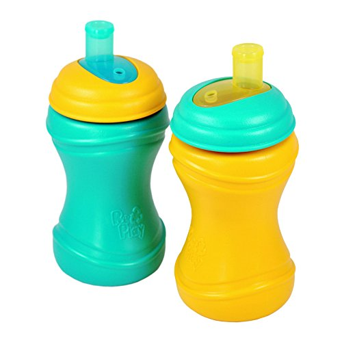 Re-Play 2 Piece Soft Spout Cup, Aqua/Sunny Yellow - 1
