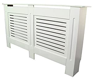 painted radiator cover radiator cabinet modern style white. Black Bedroom Furniture Sets. Home Design Ideas