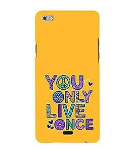 EPICCASE Life is Short Mobile Back Case Cover For Micromax Sliver 5 Q450 (Designer Case)
