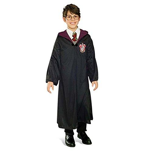 Harry Potter - Mantello per bambini - Con cappuccio - Accessorio per costume di carnevale - M