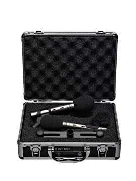 AKG C451B/ST Stereo Condenser Microphone package
