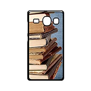 Vibhar printed case back cover for Samsung Galaxy A8 Books