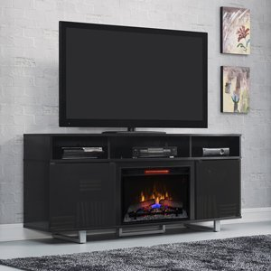 Classicflame Enterprise Lite Infrared Electric Fireplace Entertainment Center In Black - 26Mm9665-Nb157