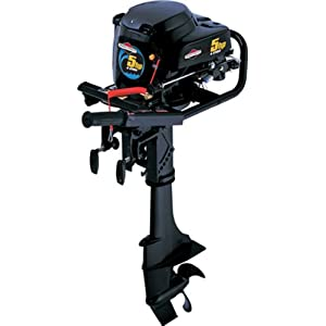 Small boat motor gas all boats for Briggs and stratton outboard motors for sale