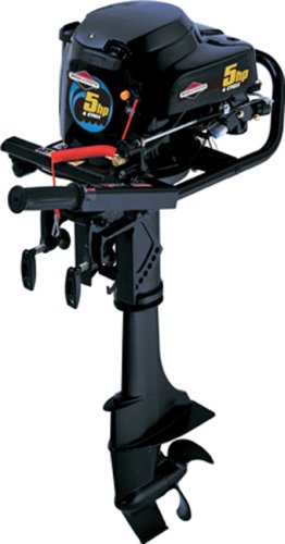 Briggs & Stratton 5hp 4-Cycle Gas Outboard Boat Motor