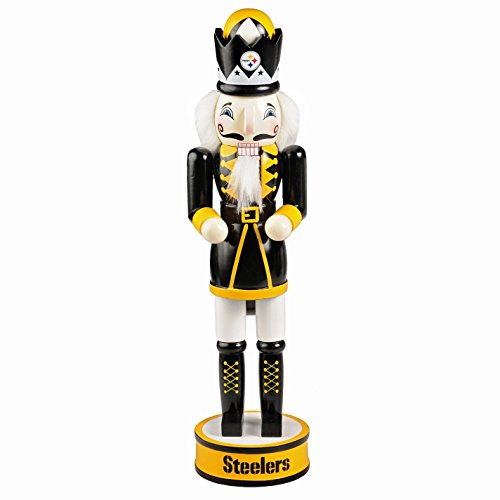 """Home Decor Pittsburgh Pa: Pittsburgh Steelers Official NFL 14 Inch 14"""" Christmas"""
