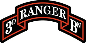 Amazon.com: 3rd Ranger Battalion 8 Inch Decal: Automotive