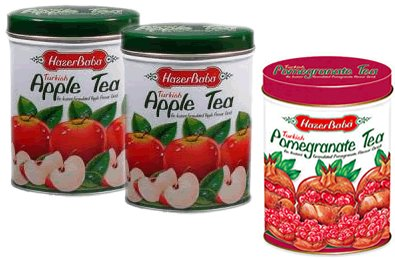 Turkish Apple Tea & Pomegranate Tea Combo Pack