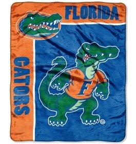 Florida Gators 50 inch x 60 inch Royal Plush Raschel Throw Blanket - School Spirit... by W2B
