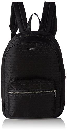 Armani Jeans0622LV8 - Borsa a tracolla Uomo , Nero (Schwarz (NERO - BLACK 12)), 14x43x33 cm (B x H x T)