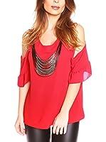 JUST SUCCES Blusa Coralie (Rojo)
