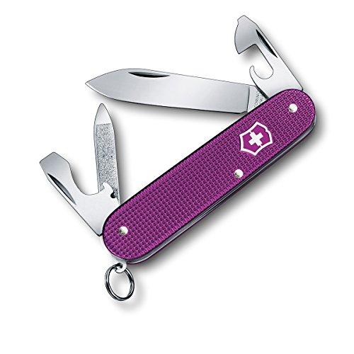 Victorinox Cadet Alox 84mm Medium Pocket Knife, 2016 Limited Edition, Orchid Violet