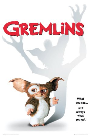GB eye Gremlins One Sheet Maxi Poster, Multi-Colour