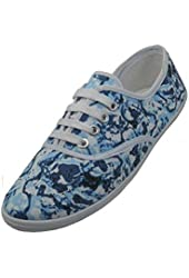 Womens Lace Up Canvas Shoes