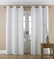 Linen Mix Herringbone Curtains