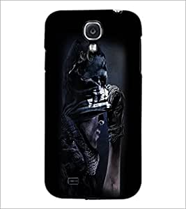 PrintDhaba Warrior D-2039 Back Case Cover for SAMSUNG GALAXY S4 (Multi-Coloured)