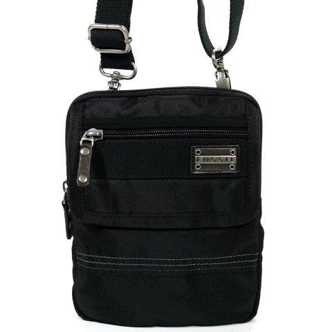 herren Stoff Handtaschen FOSSIL MEN BAG MEN KNGSTON UTLTY PCH BLACK MBG1195001