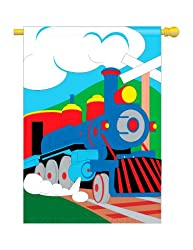 Train Flag Indoor/Outdoor 28&quot; x 44&quot;
