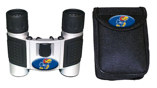 Ncaa Kansas Jayhawks High Powered Compact Binoculars With Case