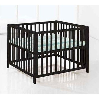 BabyDan Felix Wooden Playpen (Black)