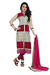 Shree Hans Creation Bajirao Mastani Red Dress Material
