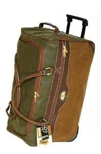 Wheeled Holdall Suitcase Luggage Wheels Bag Medium 60 Litre