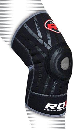 Authentic RDX Neoprene Gel Knee Brace Cap Support MMA Pad Guard Protecter Patella Sport AB (SINGLE ITEM)