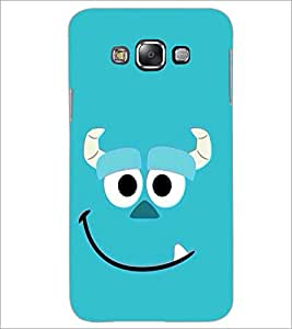 PrintDhaba Smiley D-2005 Back Case Cover for SAMSUNG GALAXY A8 (Multi-Coloured)