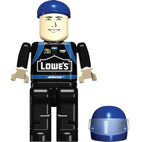 K'Nex Jimmie Johnson Figure Bag, 36513, 8 Piece Set, NASCAR, LOWE'S