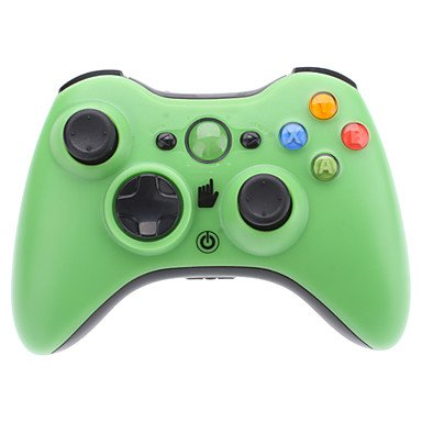 Buy Wireless Controller For Xbox 360 (Assorted Colors) , Black