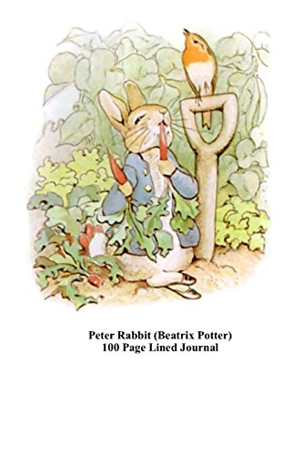 Peter Rabbit (Beatrix Potter) 100 Page Lined Journal: Blank 100 page lined journal for your thoughts, ideas, and inspiration