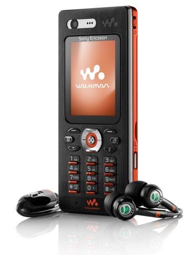 Sony Ericsson W880i flame black UMTS Handy
