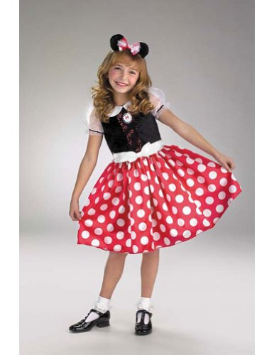 Baby-Toddler-Costume Minnie Mouse Toddler Costume 3T To 4T Halloween Costume