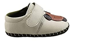 V-SOL Zapatillas Zapatos Primeros Pasos De Cuero Para Bebé Niño Niña Antideslizante Con Velcro en BebeHogar.com