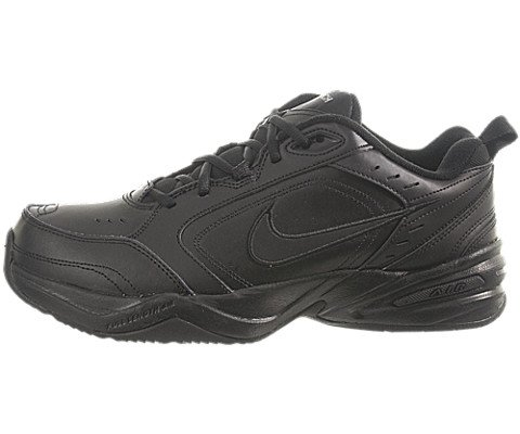 Nike Air Monarch IV(4E) Men's Training Shoe (8.5 4E(M) US, Black/Black) (Nike Air compare prices)