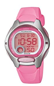 Casio Women's LW200-4BV Digital Pink Resin Strap Watch from Casio