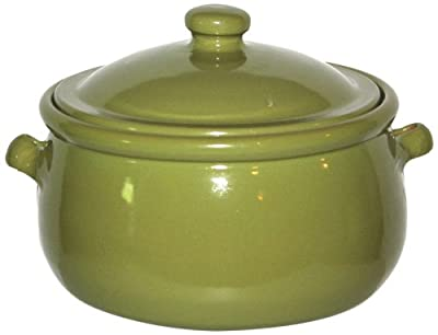 Amazing Cookware 3 Litre Terracotta Stew Pot -olive Green by Amazing Cookware