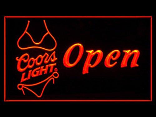 coors-light-bikini-bier-led-zeichen-werbung-neonschild-rot