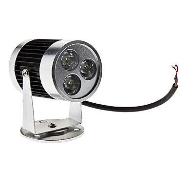 3W 240-270Lm 6000-6500K Natural White Light Black Shell Led Orbit Lamp (12V)