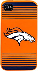 Forever Collectibles Denver Broncos Team Logo Silicone Apple iPhone 4 & 4S Case by Forever Collectibles