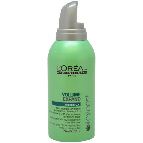 Serie Expert Volume Expand Mousse For Fine Hair Unisex By L'Oreal, 5.07 Ounce