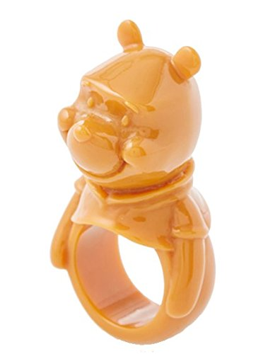 Q-pot. Pooh Honey caramel Ring with Special Package