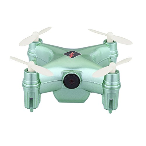 WLtoys Q343 6 Axis Gyro Barometer Set Height Hover APP Wifi FPV Quadcopter Drone with 0.3MP Camera Green