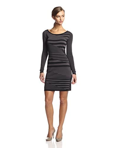 Julia Jordan Women's Broken Stripe Knit Sheath