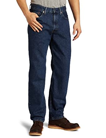Levi's Men's 550 Relaxed Fit Jean, Dark Stonewash, 29x30