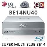 LG Electronics BE14NU40 – Grabador de Blu-ray externo (conexión USB 3.0 de alta velocidad, soporta discos BDXL)
