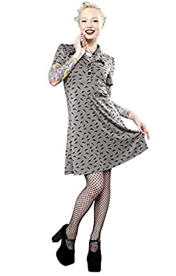 Sourpuss Rosie Bats Dress Goth