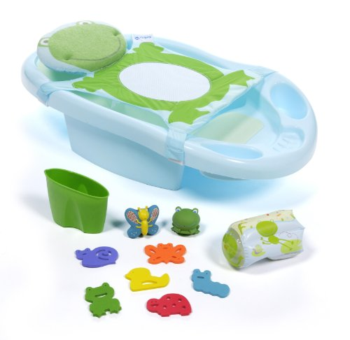 Safety 1St Deluxe Funtime Froggy Bath Center front-929104