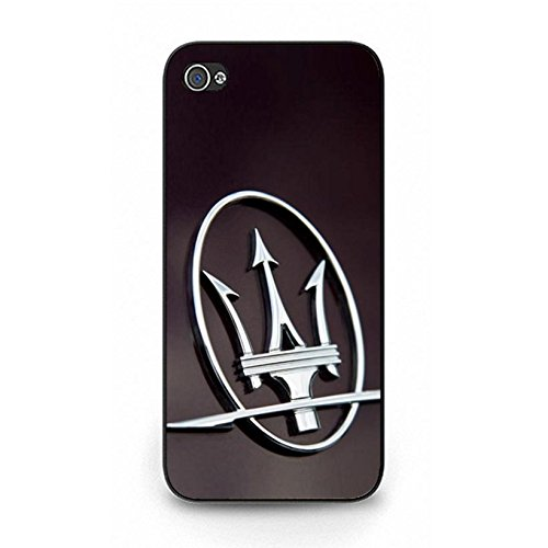 Iphone 5/5s Cover Case Luxury Printed Maserati Logo Phone Case for Iphone 5/5s Customized Creative Maserati Mark Pattern