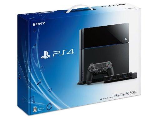 PlayStation 4 ジェット・ブラック 500GB PlayStation Camera 同梱版 (CUH-1000AA01)